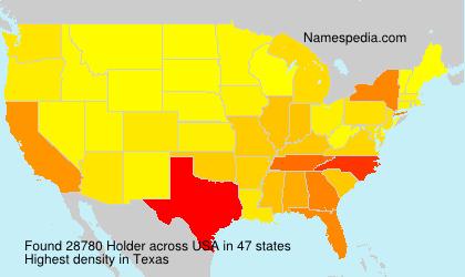 Surname Holder in USA