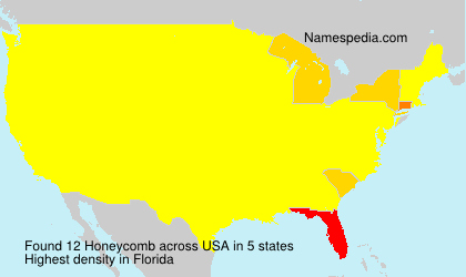 Surname Honeycomb in USA