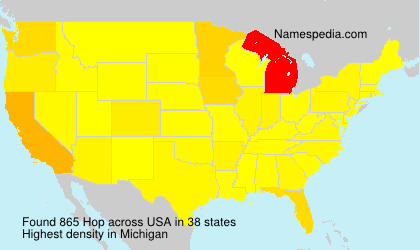 Surname Hop in USA