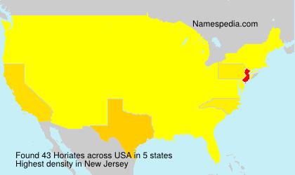 Horiates - USA