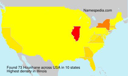 Surname Hourihane in USA