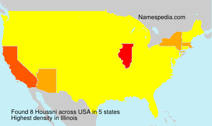 Surname Houssni in USA