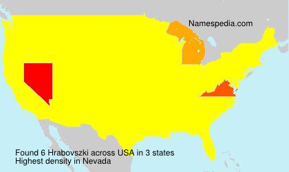 Hrabovszki - USA