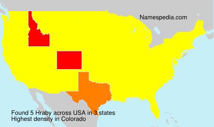 Hraby - USA