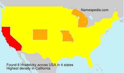Hradetzky - USA