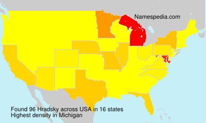 Hradsky - USA