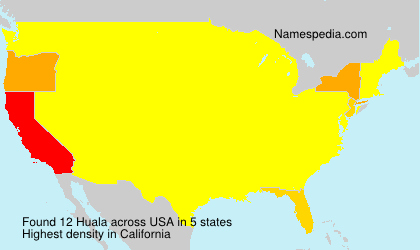 Surname Huala in USA