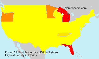 Surname Hustoles in USA
