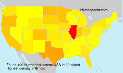 Surname Hutmacher in USA