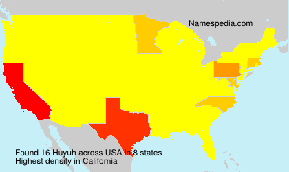Surname Huyuh in USA