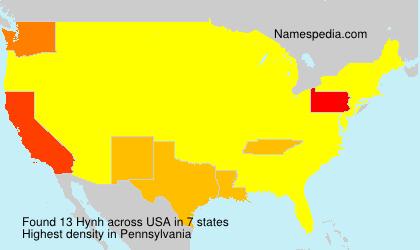Familiennamen Hynh - USA