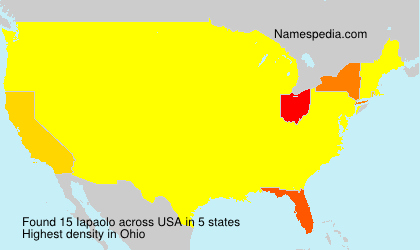 Surname Iapaolo in USA