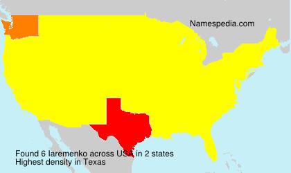 Surname Iaremenko in USA