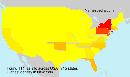 Surname Iasiello in USA