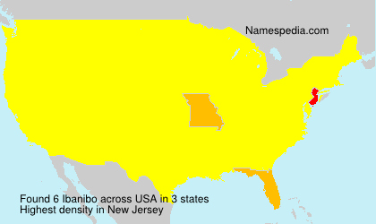 Surname Ibanibo in USA