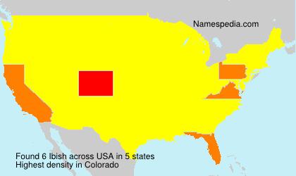 Surname Ibish in USA