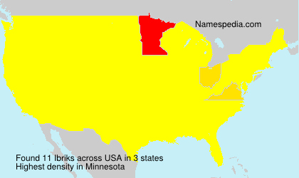 Surname Ibriks in USA