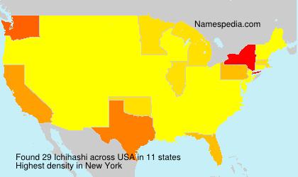 Surname Ichihashi in USA