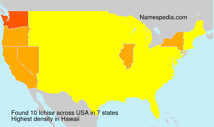 Surname Ichise in USA