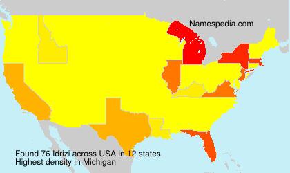 Idrizi - USA