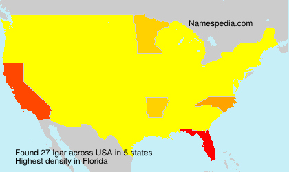 Surname Igar in USA