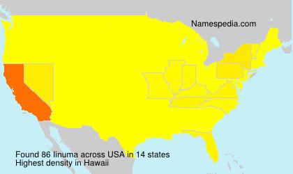 Familiennamen Iinuma - USA