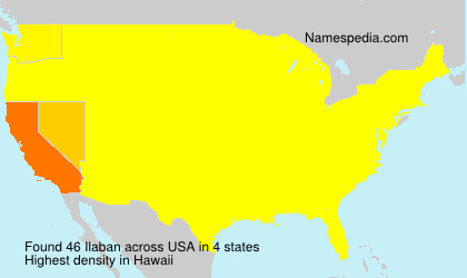 Surname Ilaban in USA