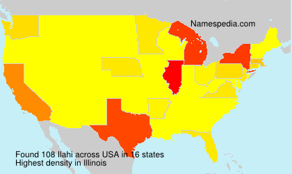 Surname Ilahi in USA