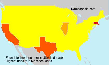 Surname Ildeberto in USA