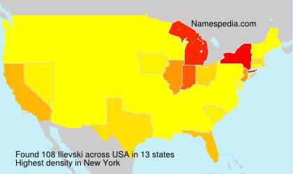 Surname Ilievski in USA