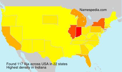Surname Ilija in USA