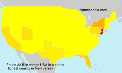 Surname Ilijic in USA