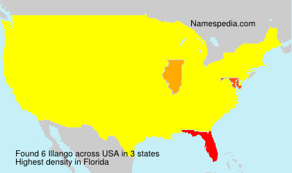 Surname Illango in USA
