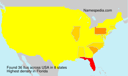 Surname Ilus in USA
