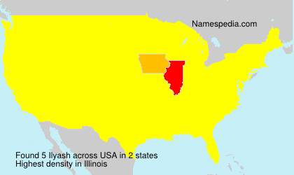 Familiennamen Ilyash - USA