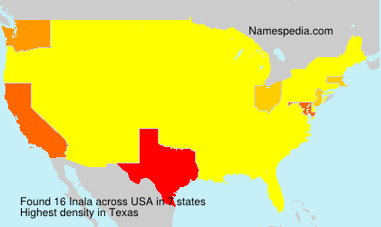 Surname Inala in USA