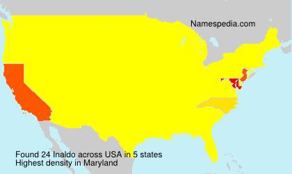 Familiennamen Inaldo - USA