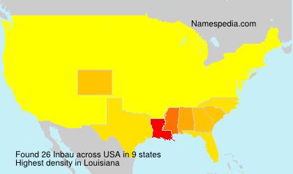 Familiennamen Inbau - USA