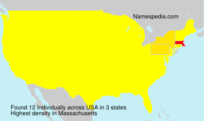 Surname Individually in USA