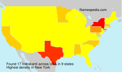 Surname Indrakanti in USA