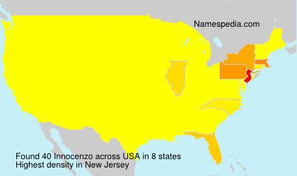 Familiennamen Innocenzo - USA