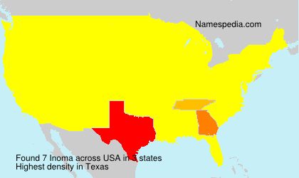 Surname Inoma in USA