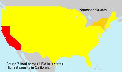 Surname Inori in USA