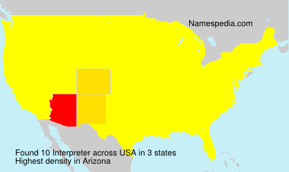 Surname Interpreter in USA
