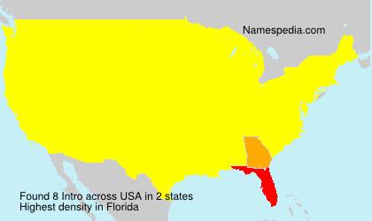 Familiennamen Intro - USA