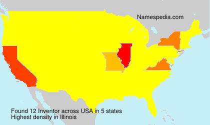 Surname Inventor in USA