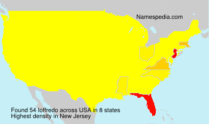 Surname Ioffredo in USA
