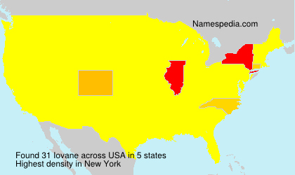 Surname Iovane in USA