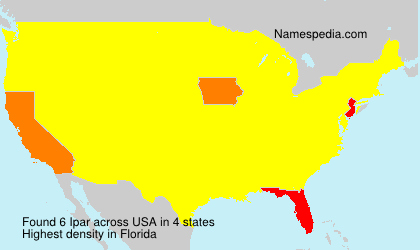 Surname Ipar in USA