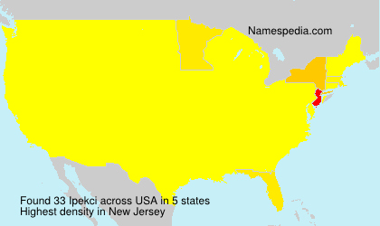 Surname Ipekci in USA